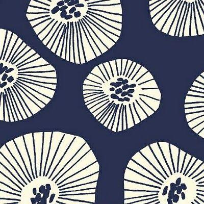 indigo tissus pattern