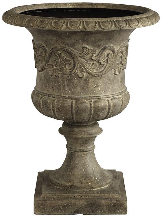 Outdoor Grecian Pedestal Urn
