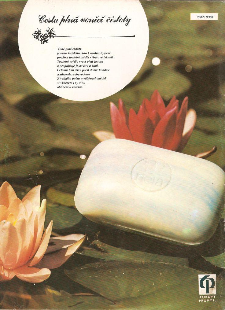 voňavé československé mydlo