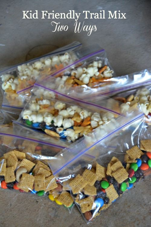 Goodness on the Go with Mott's® & Two Kid Friendly Trail Mix Recipes - Mountain Mama Cooks