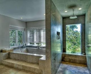 11 best celebrity master bathrooms images on pinterest for Bathroom ideas sims 4