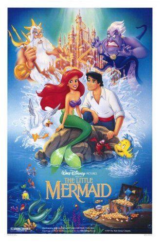 The Little Mermaid original poster | La Sirenita | @Dgiiirls