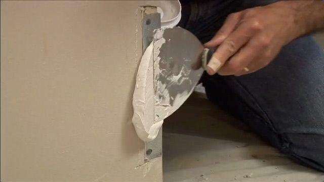 Repair drywall corners that take several beatings (like from the vacuume).
