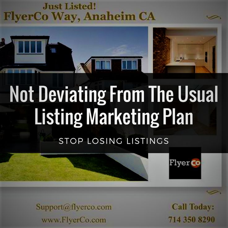 Stop Losing Listings Crime #1 Not Deviating From The Usual Listing Marketing Plan Sadly, many people think all a residential real estate agent does is take a few photos for online sites and put a lawn sign in the yard. But this is a great opportunity for you to stand out.  For your Transaction Coordination needs, Reach us through: Email: desiredrealestateservicesllc@yahoo.com Call us: 407-801-2634 Check out our website: http://www.desiredrealestateservices.com/ Visit our Social Media pages…