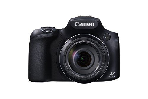 Canon SX60 HS Appareil Photo Numérique Compact 3″ (7,62 cm) 16,1 Mpix Zoom optique 65x HDMI/USB/Wi-Fi Noir | Your #1 Source for Camera, Photo & Video