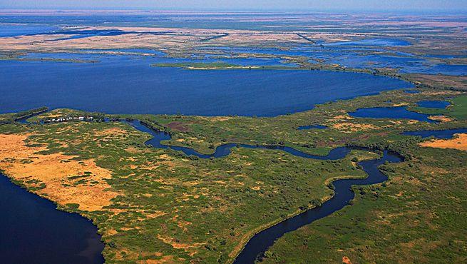 Delta of the River Danube
