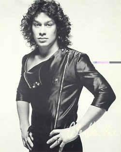 Alex Van Halen = HUGE crush back in the day... and the namesake for my youngest son.
