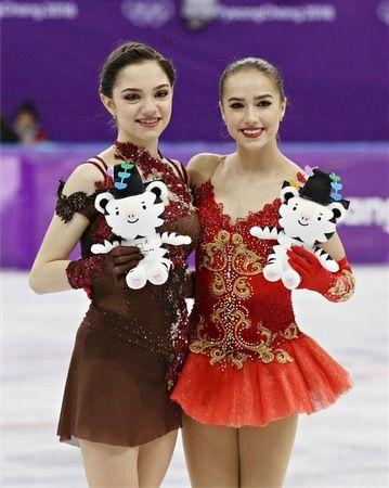 ザギトワとメドベージェワ