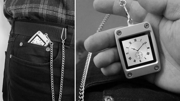 The pocket watch has become a thing of past.