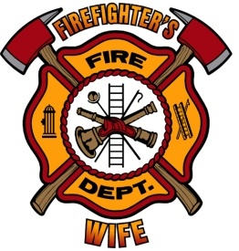 Firefighters Wife Decal--Though I love these guys, I think it would be very hard to be a firefighter's wife. Imagine the worry!