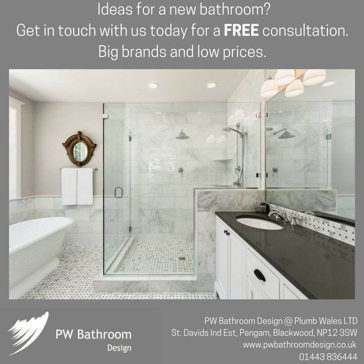 Ideas For A New Bathroom? Get In Touch With Us Today For A Free Consultation