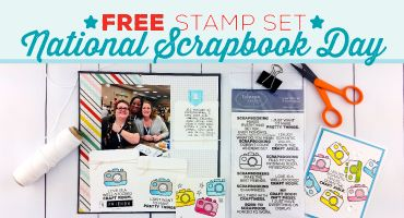 Spend $30 and get a free stamp set with code NSD.