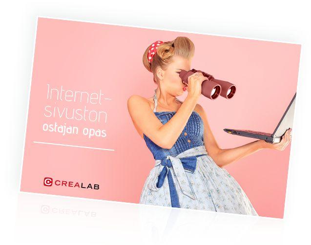 Maksuton opas sinulle, joka pähkäilet internet-sivujen tilaamisen parissa.