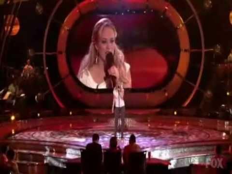 American Idol Season 4 - winner Carrie Underwood Performances
