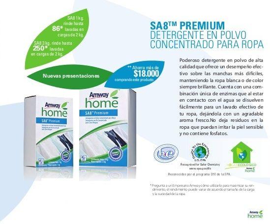 Detergente SA8 Premium de Amway Home