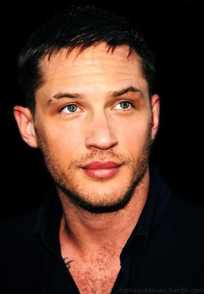 Tom Hardy - just saw Lawless. What a hard job he had. He had to lay in a bed and let a naked woman undress him and make-out with him. Things actors do for their craft. What a trooper.