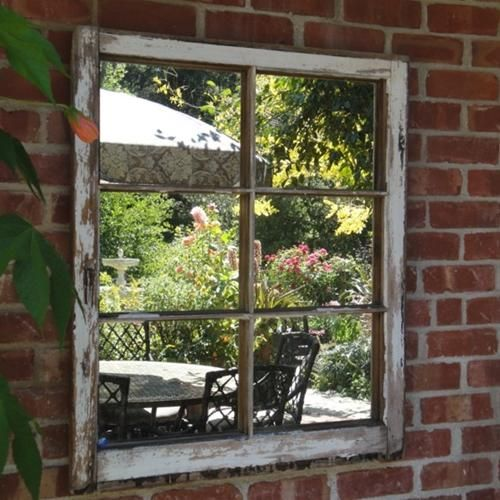 17 best images about chain link fence art on pinterest for Recycled window frames