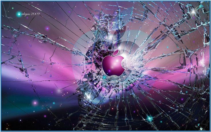 Screensavers for windows 7 broken glass screensaver - Cool screensavers for cracked screens ...