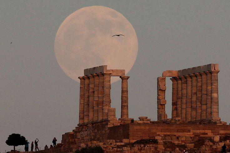 Tempio di Poseidone, Capo Sunio, Grecia - Foto Costas Baltas