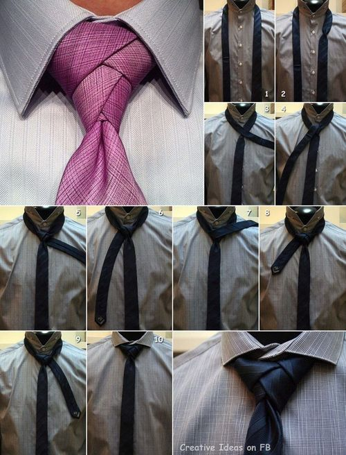 Tie an awesome tie