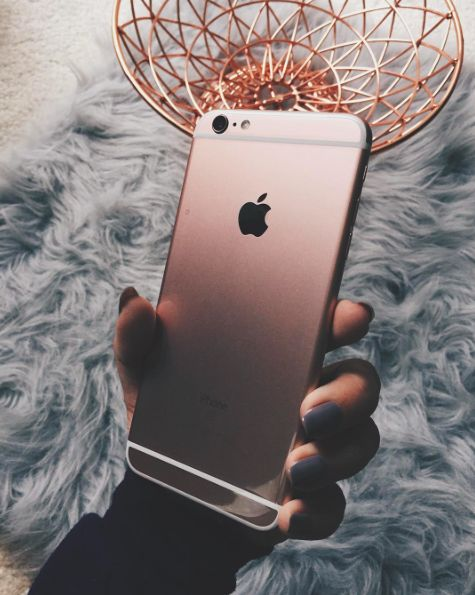 Pinterest: dopethemesz ; rose gold/copper dreams ; rose gold iphone on fur