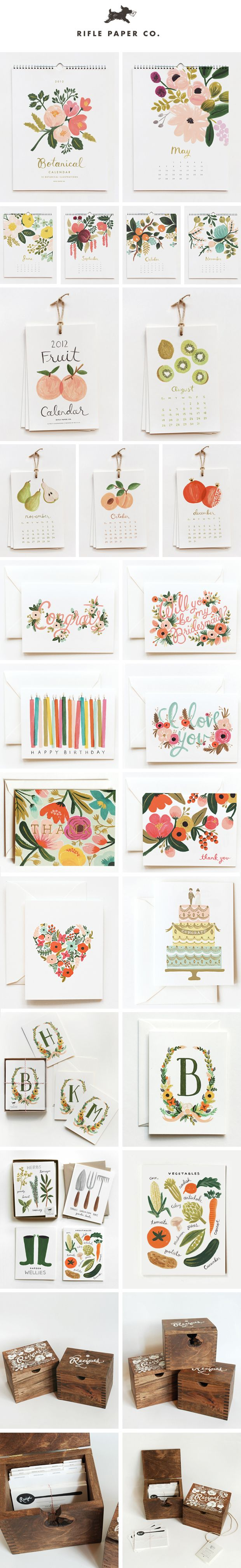 Love this stationery range!! So beautiful, well designed, lovely imagery, simplistic, colourful, unique!