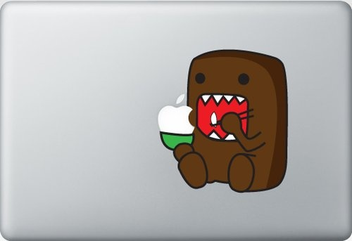 Shoply.com -Domo Decal Sticker for Macbooks. Only $9.90