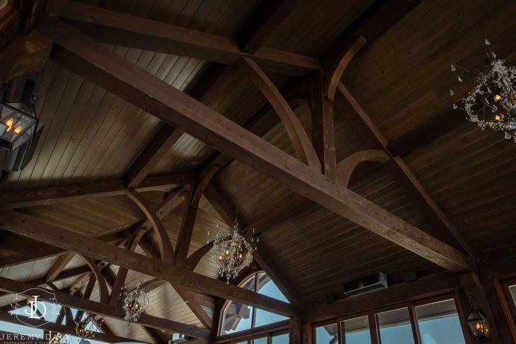 Cambridge Mill Wedding Ceremony Ceiling