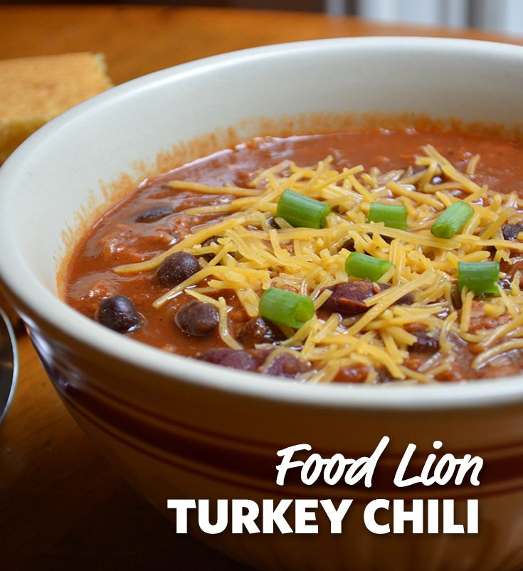 50 best food lion family of brands images on pinterest lion family easy turkey chili forumfinder Gallery