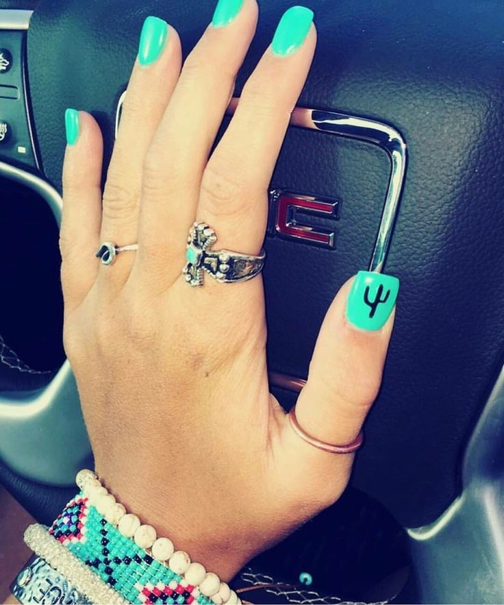 Love the turquoise nails. My next color for sure!
