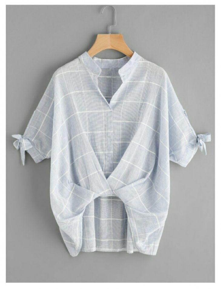 Лёгкая стильная переделка рубашки / Рубашки / ВТОРАЯ УЛИЦА