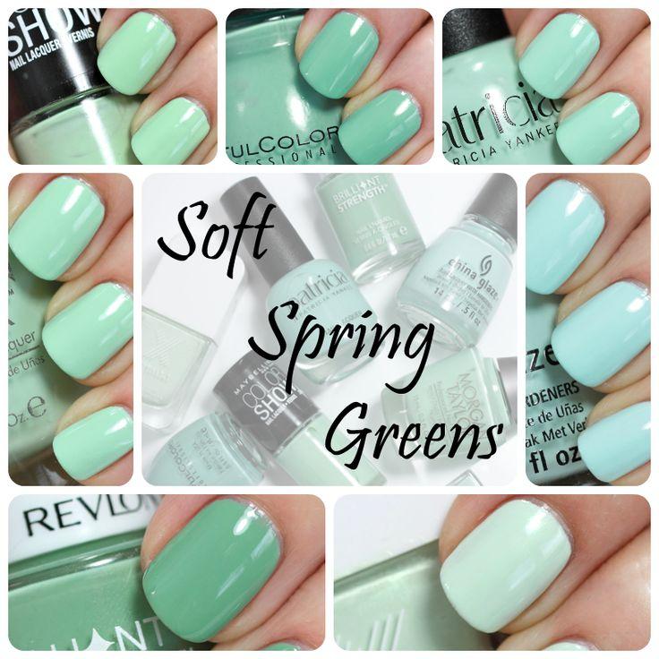 Nail Polish Nice Colors: Nail The Trend - Mint Green Nail Polish For Spring