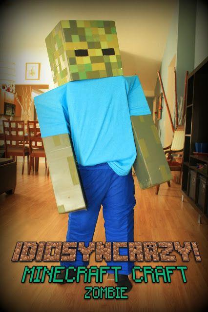 IdiosynCRAZY!: Adventures in Crafting: DIY Minecraft Zombie