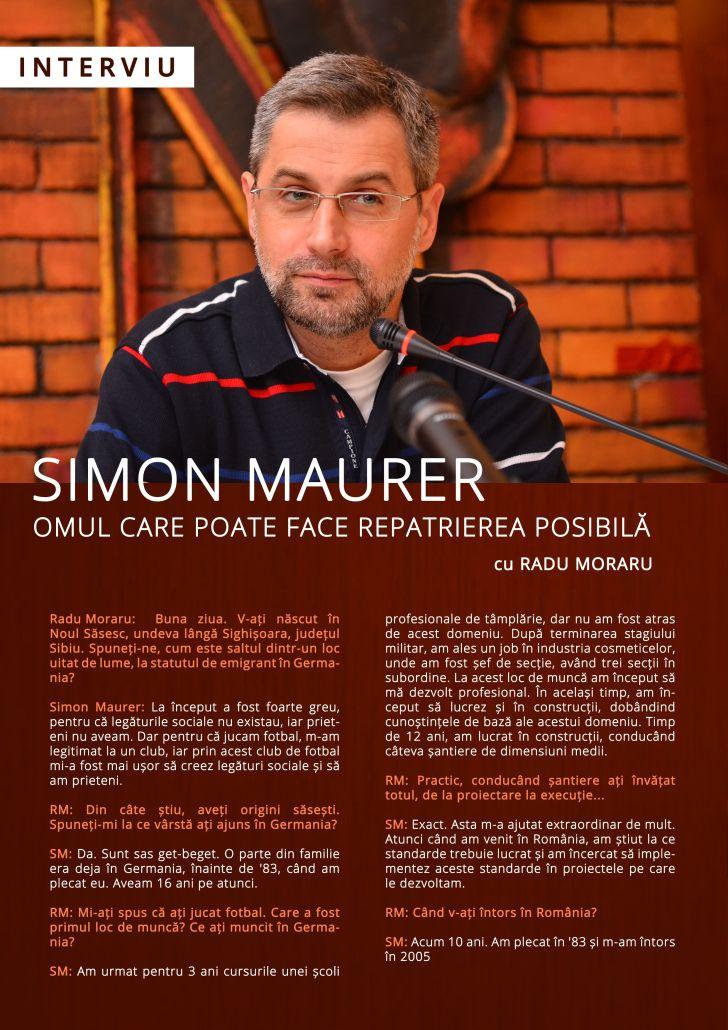 Simon Maurer - interviu Nasul TV (1)