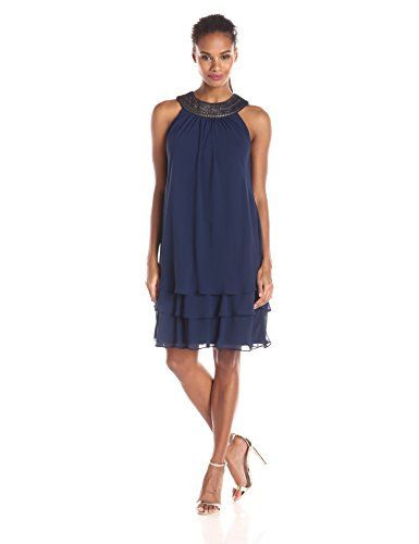 Sl Fashions dresses navy blue