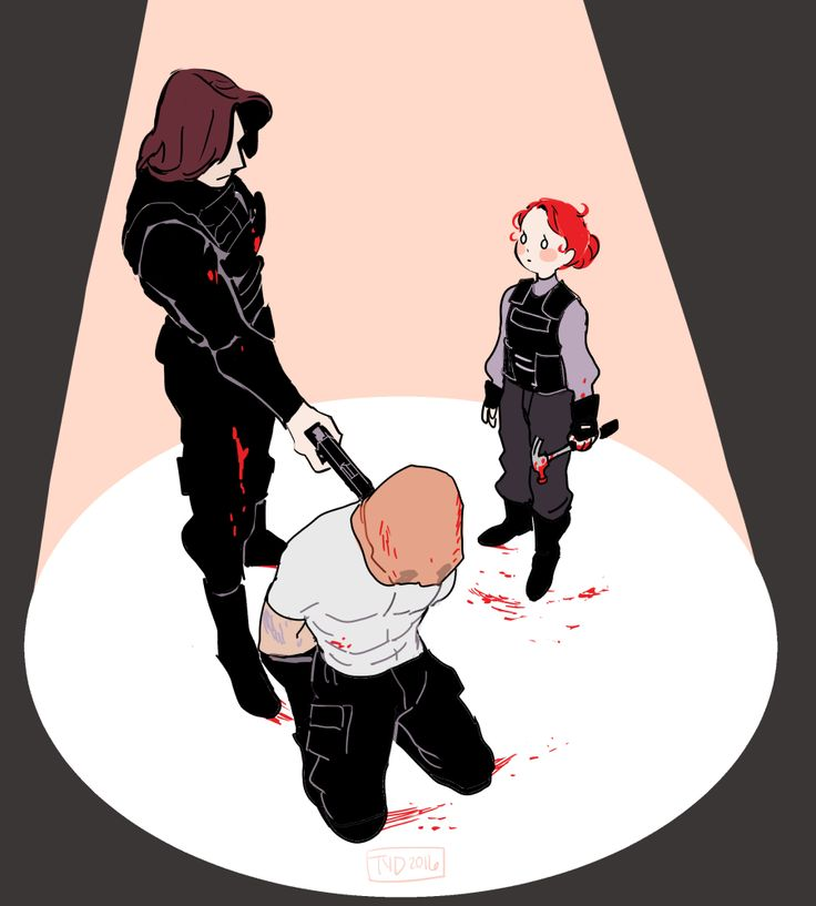 lessons with the soldier (young natasha and bucky)