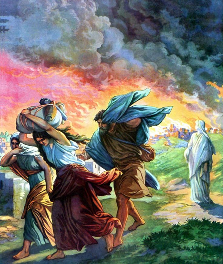 """Days of Lot  Judgement of Sodom and Gomorrah - The saints of God are not spared the vexing of their souls by the unrighteousness which is in the world. For a season they endure it and then God removes them from it, so that He can bring judgement upon the unrighteous who remain. In this way the days of Noah and Lot will be """"just the same"""" as on the day that the Son of Man is revealed. Click and read"""