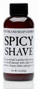 Plum Island Spicy Shave – All Natural Shaving Gel Review