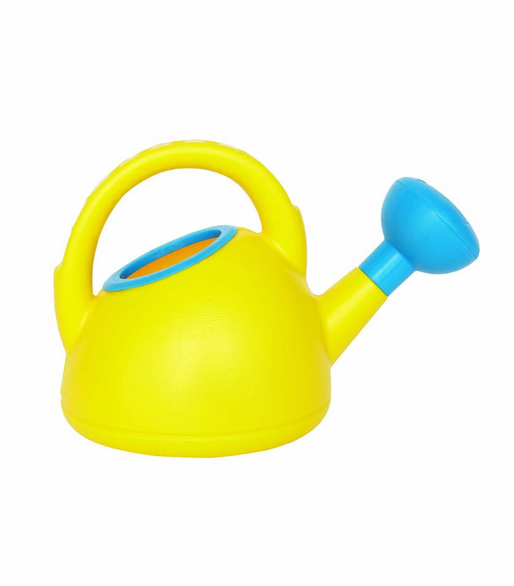 Watering Can Yellow From Hape from The Wooden Toybox