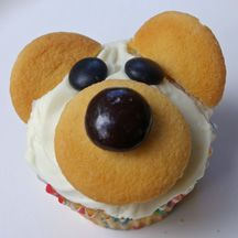 easy bear cupcakes for any of the BFIAR bear stories