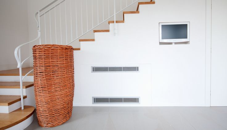 BI2 SLI 2 PIPES The recessed fan coil that heats, cools and dehumidifies. Only 12.6 cm deep, it can be flush-mounted on the wall or ceiling. A unit that blends in unobtrusively with the building and guarantees high installation flexibility.