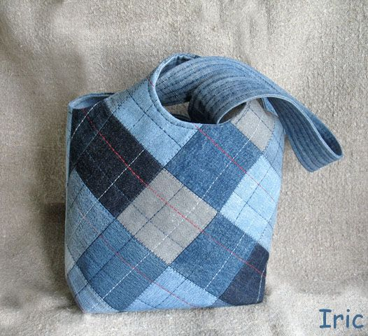 #denim #recycled #bag