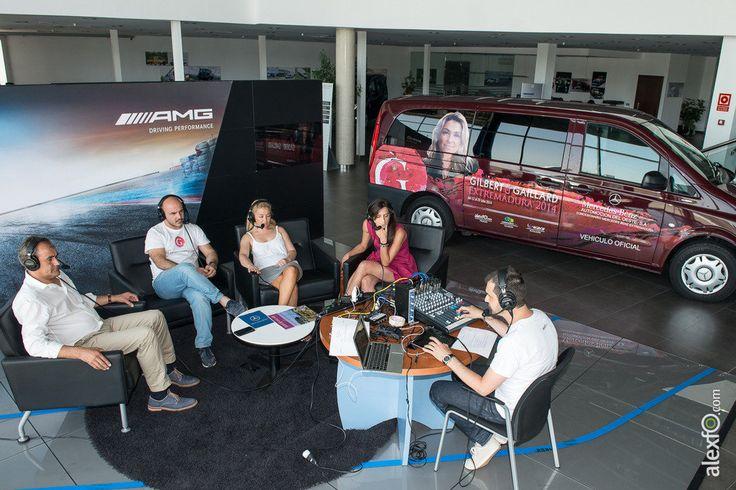 """Grabación del programa """"Turismo Pro"""" sobre Energía en Automoción del Oeste #MercedesBenz #Extremadura"""