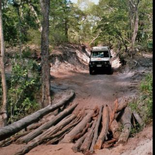 Old telegraph track, Cape York, Australia - just don't visit during the wet season, between November to April