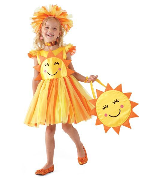 miss sunshine girls costume