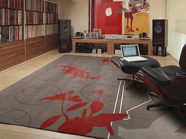 Tappeto Art Design - - Art Design rug - Abstract Flowers
