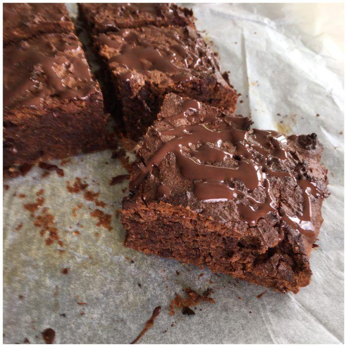 Chokoladekage med mandelsmør -