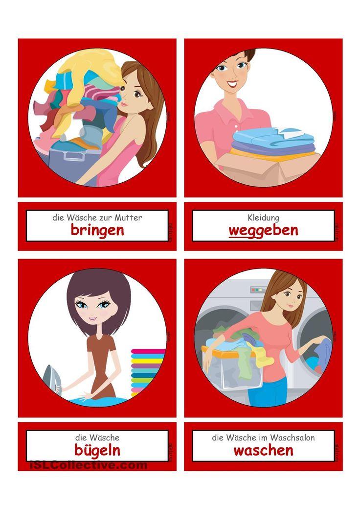 Waschtag_Verben 2 _  Flashcards klein