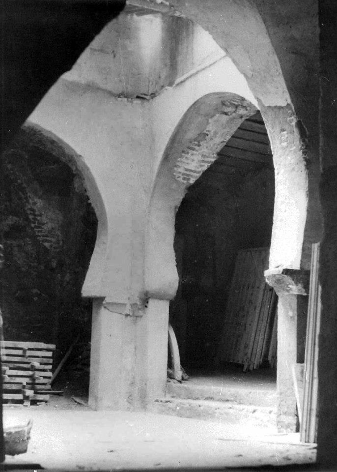 Baños Arabes Antiguos:Baños árabes DESTRUIDO