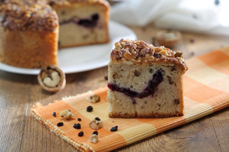 Incredibly tempting Blueberry & Coffee pound cake!